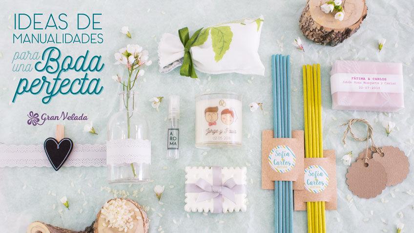 Manualidades para boda ideas para detalles caseros - Manualidades regalo boda ...