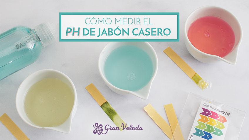 Ph jabon casero