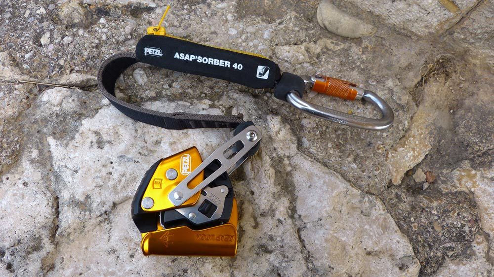 Anticaídas asap lock