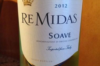ReMidas Soave wine