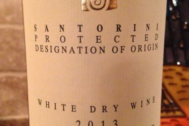 Thalassitis Santorini White Dry Wine 2013