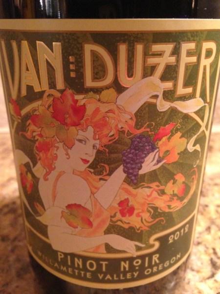 2012 Van Duzer Willamette Valley Pinot Noir