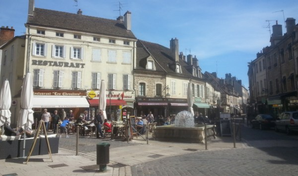streets of beaune