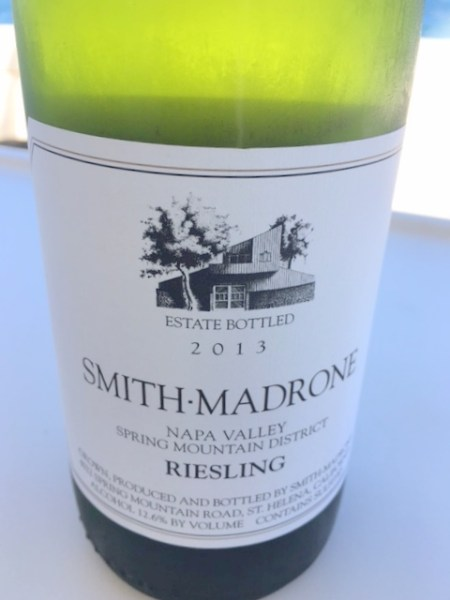 Smith Madrone Riesling 2013