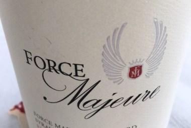 elegant wines - force majeure syrah