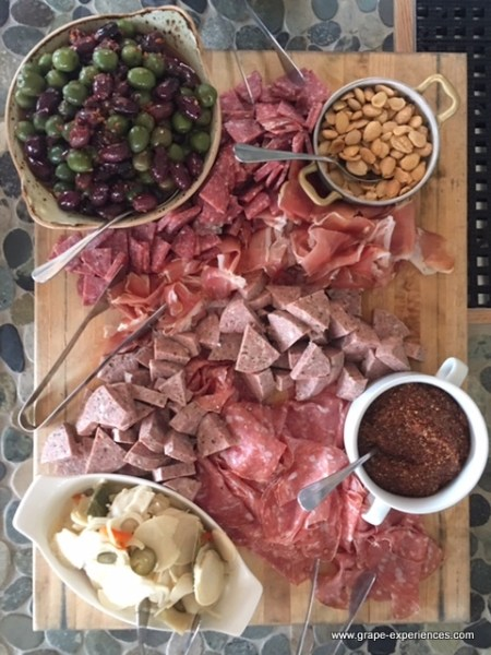 Sweet Bordeaux and Charcuterie