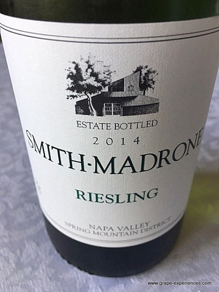 Super Bowl - Smith-Madrone Riesling