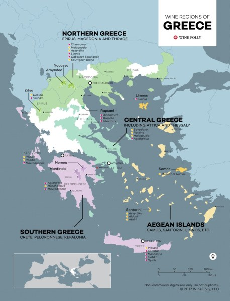 The Fascinating History & Wines of Crete – Guest Post by Anna Maria Kambourakis