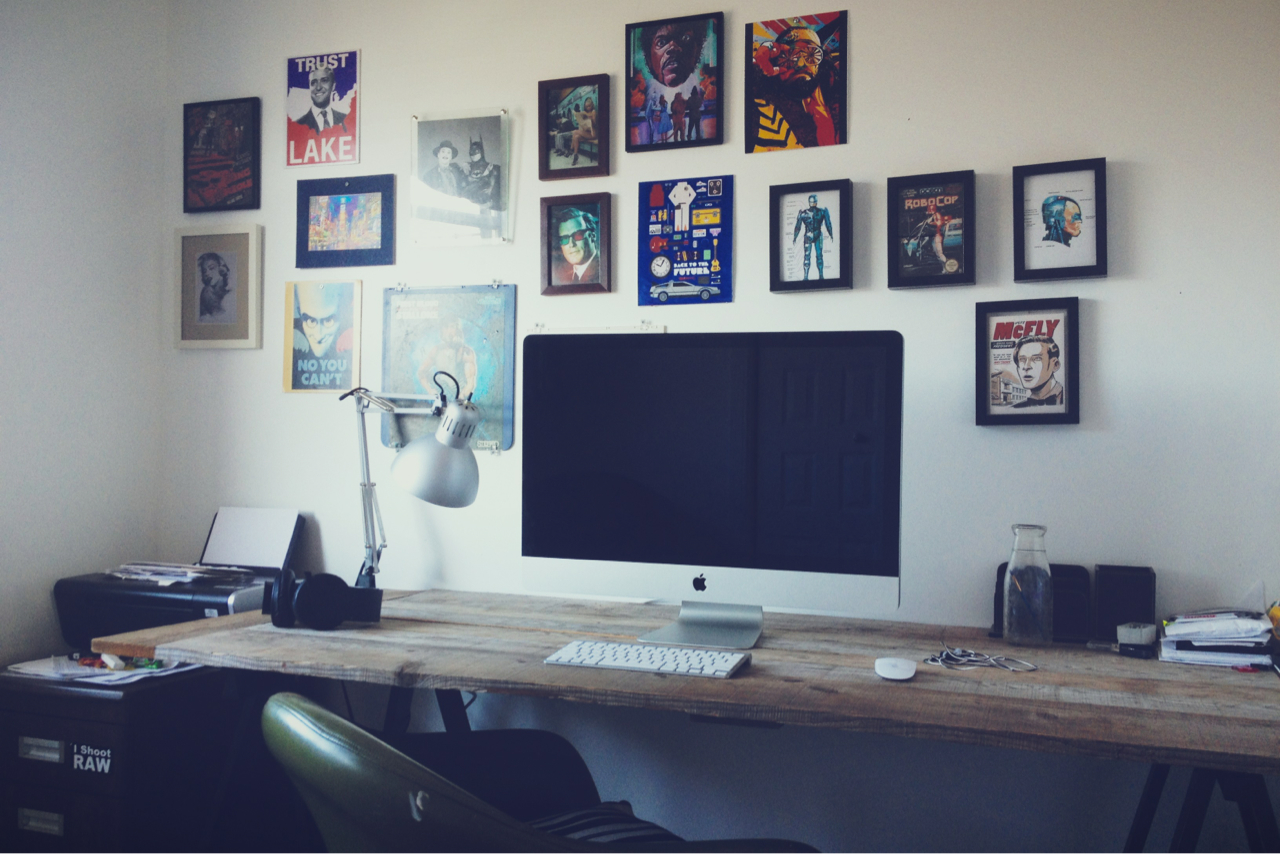 Four Items For A Great Home Office  Grape Track