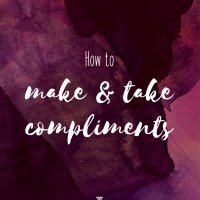 How to make and take compliments
