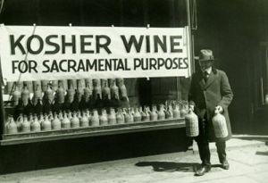 venditore di vino kosher