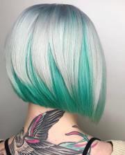 modern short shaggy bob hairstyles