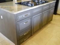 Glazed Grey Kitchen Cabinets