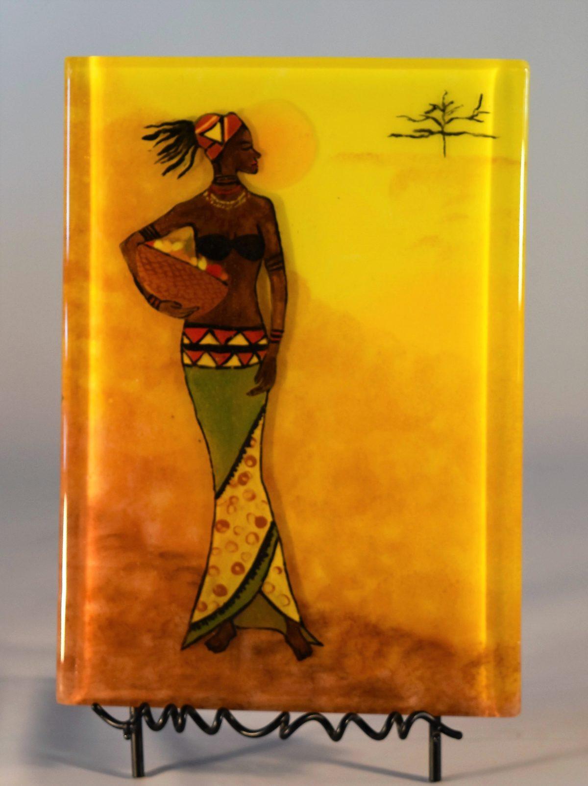 Africa Art – mwanamke