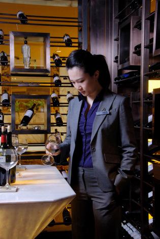 Julia Zhu Beijing Hilton sommelier