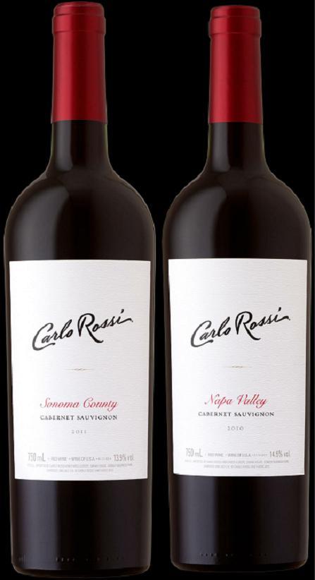 carlo rossi sonoma county napa valley 2011 cabernet sauvignon for china