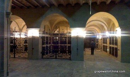 The cellar...