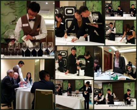 China Young Sommelier Team Competition 中国青年侍酒师团队大赛 2015 Qingdao (3)