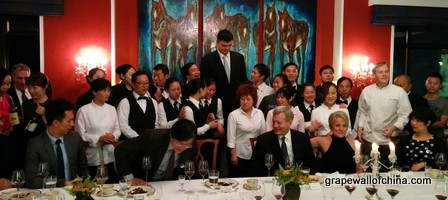 Center Stage Former Nba Star Yao Ming Opens Tasting Room
