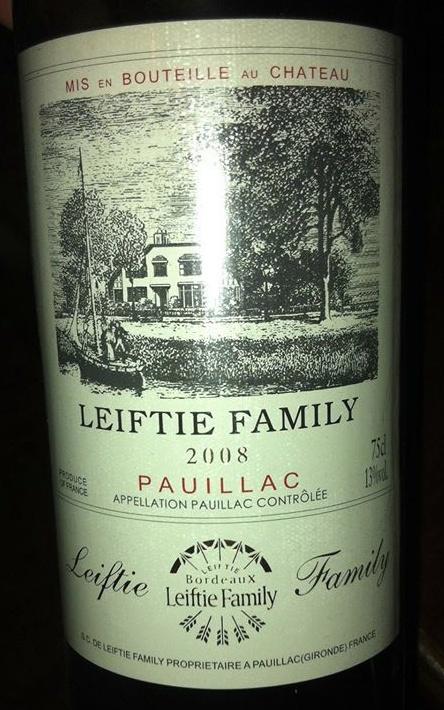 fake wine leiftie
