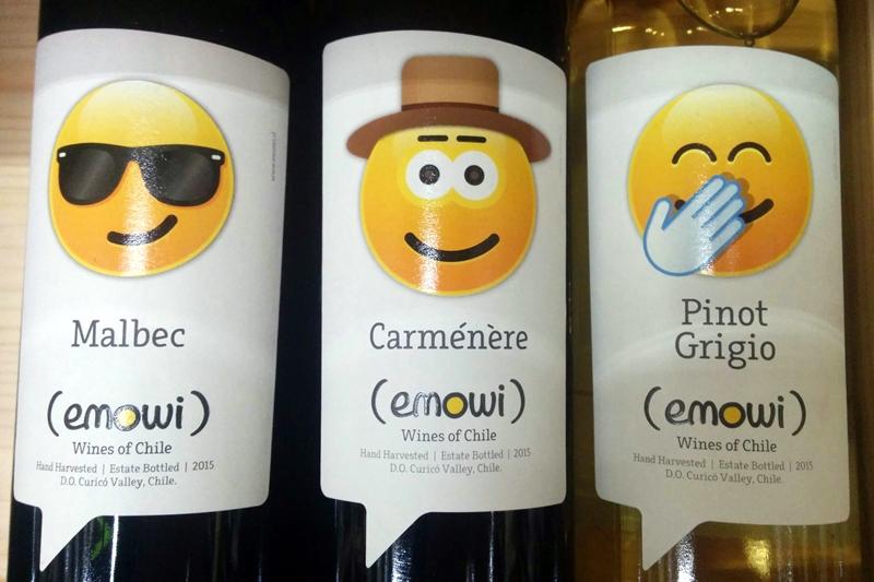 wine label 2 emowi emoji wine in april gourmet