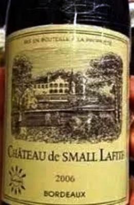 wine label 5 small lafite