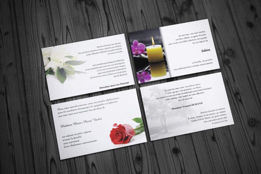 Cartes De Condoleances Creation Et Impression Qualite