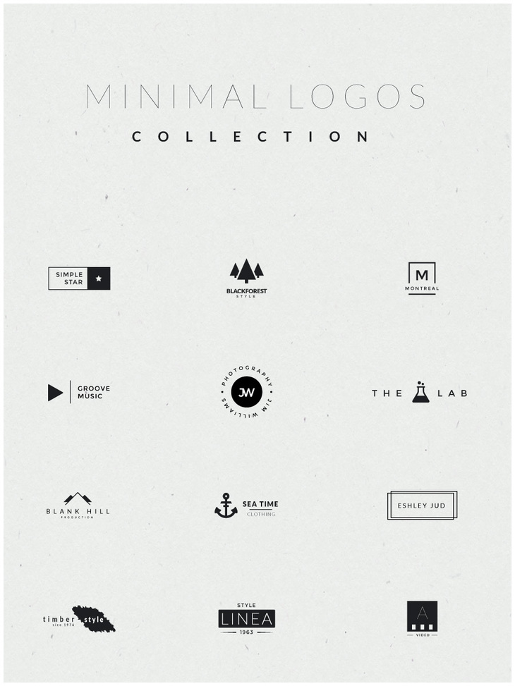 Minimal Logos Collection Graphberry Com