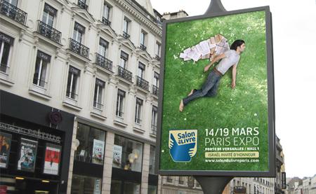 Communication du Salon du livre de paris