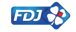 Le nouveau logo de FDJ (Française des Jeux)