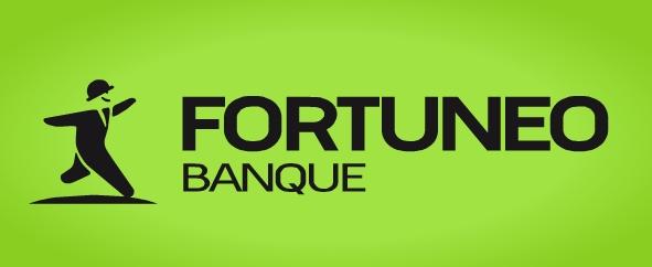 Le nouveau logo Fortuneo Banque