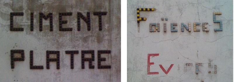 typo pixel