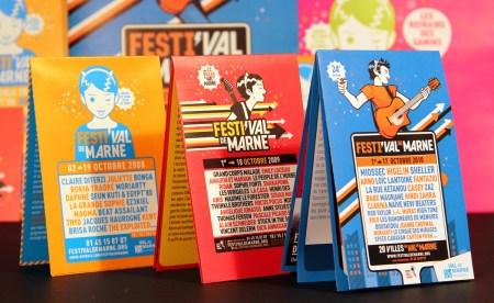 Design Poster Festival musique Marne