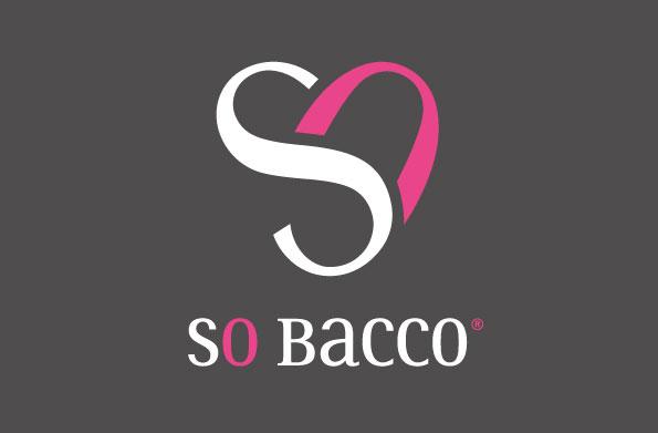 Logo pour la boisson pétillante So Bacco