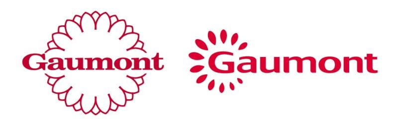 Le logo Gaumont avant et après