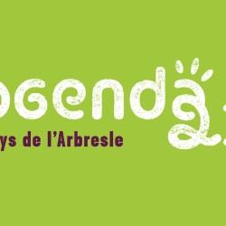 Logo agenda 21 identité visuelle Arbresles