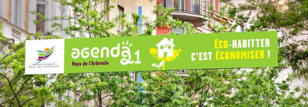 kakémono affiche écologique