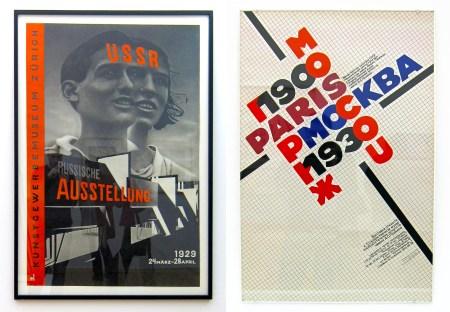 El lissitzky and roman cieslewicz affiches constructivistes russes
