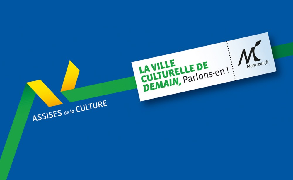 Identité visuelle des assises de la culture de montreuil