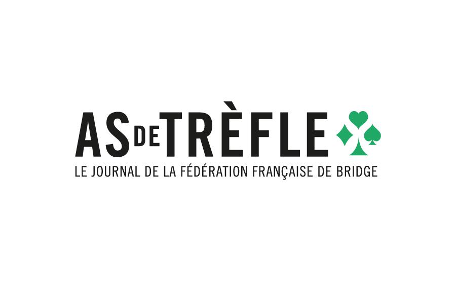 Logo pour la fédération française de bridge