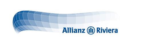 Le logo du futur stade niçois Allianz-Riviera