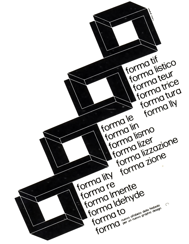 franco-grignani-graphic-forma-poster