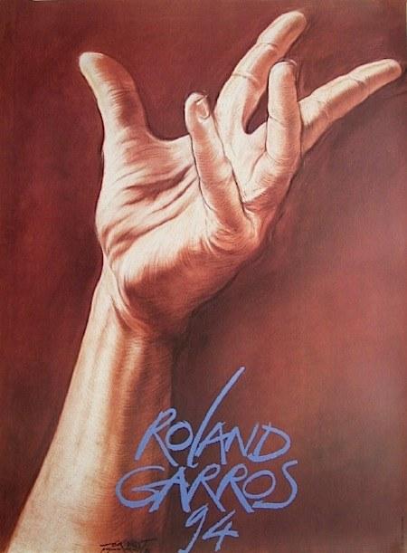 Roland Garros 1994 par Pignon-Ernest