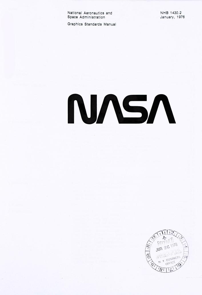 Découvrez l'histoire du logo de la Nasa ! Un logo du futur