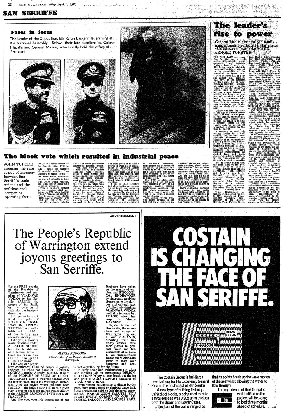 Guardian San Serriffe April Fool 1977