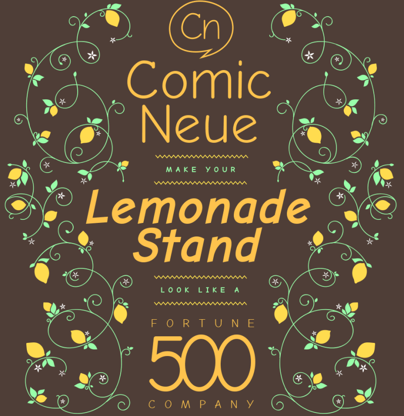 Une nouvelle version de la typographie «comic sans»