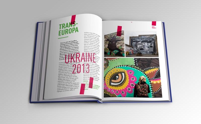 Mise en page d'un catalogue d'exposition