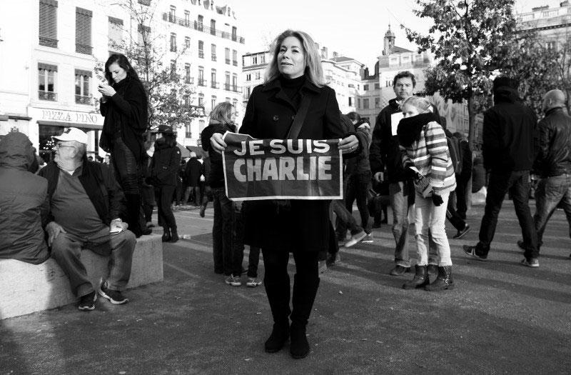 Marche républicaine du 11 janvier 2015, 300 000 lyonnais disent «je suis Charlie»