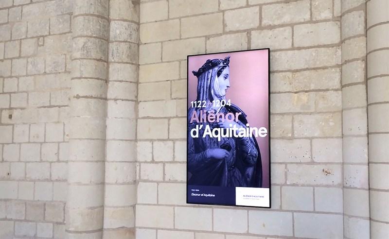 Le parcours de visite numérique de l'Abbaye Royale de Fontevraud