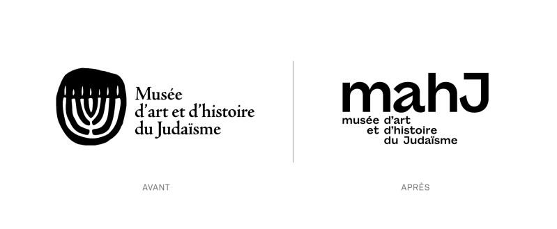 Le logo du Musée d'Art et d'Histoire du Judaïsme perd son chandelier